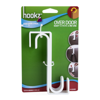 Hookz Over Door Hook 2pk
