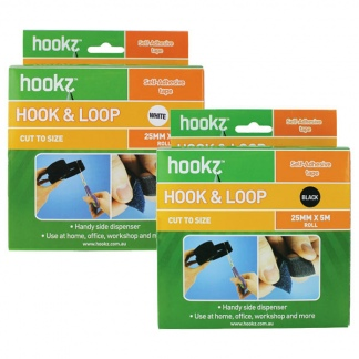 Hookz Hook & Loop Tape 5m Roll