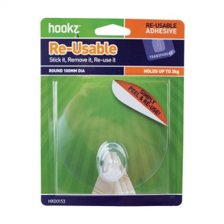 Re-Usable Round Large Hook