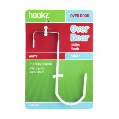 Over Door Hook Single (steel)