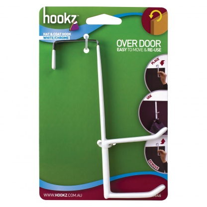 Hookz Over Door Hat and Coat Hook