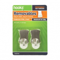 Removable Medium Utility Hooks (2 pack)