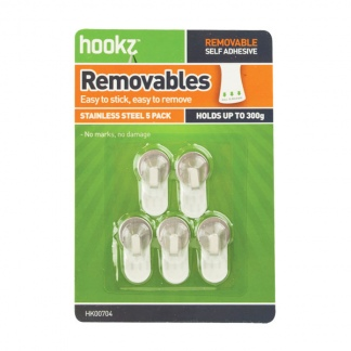 Removable Round Mini Hooks (5 pack)