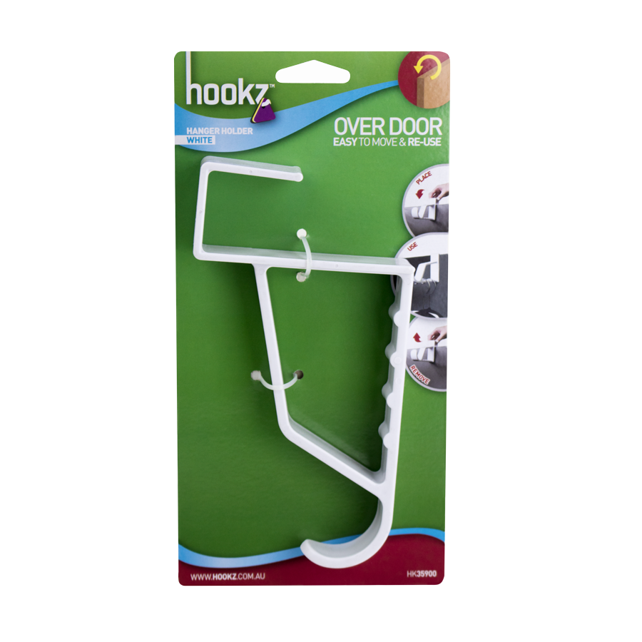 Over Door Hanger Holder Hookz Permanent And Removable Hanging